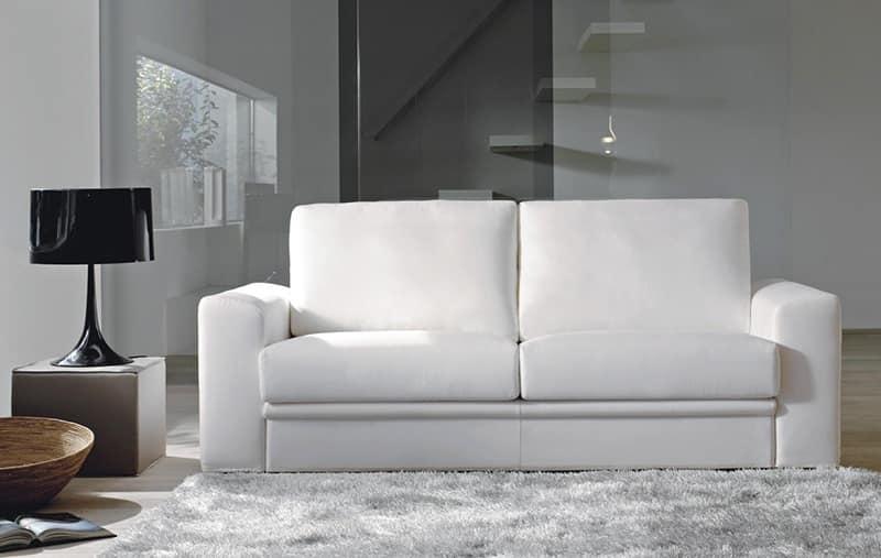 Brent divano elegante appartamenti idfdesign - Divano letto elegante ...