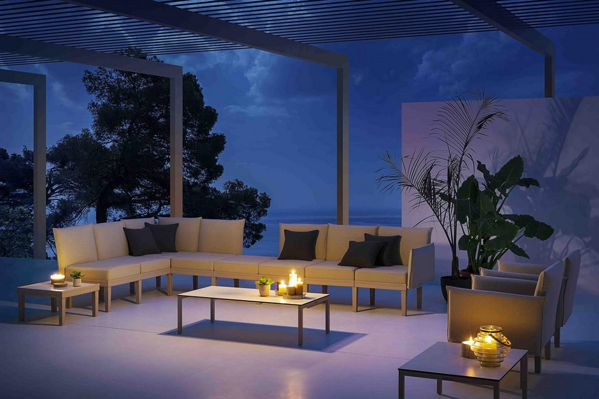 Conga, Sistema di sedute lounge modulare, per interni ed esterni