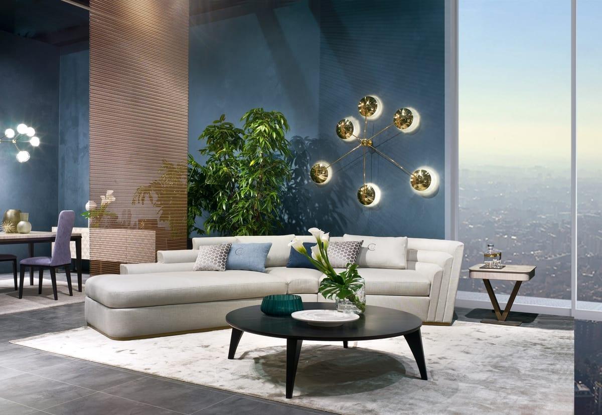 DI47 Theater divano, Divano modulare dal design moderno
