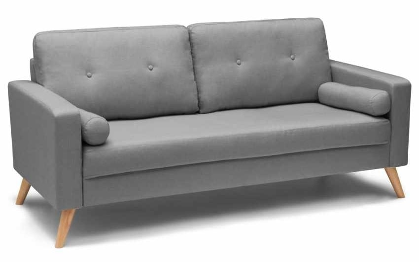 Divano stile scandinavo con ampia seduta   IDFdesign
