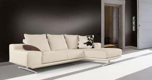 Fusion divano, Divano con penisola, dal design moderno