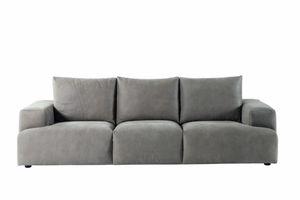 Indigo divano, Divano con cuscini a rullo