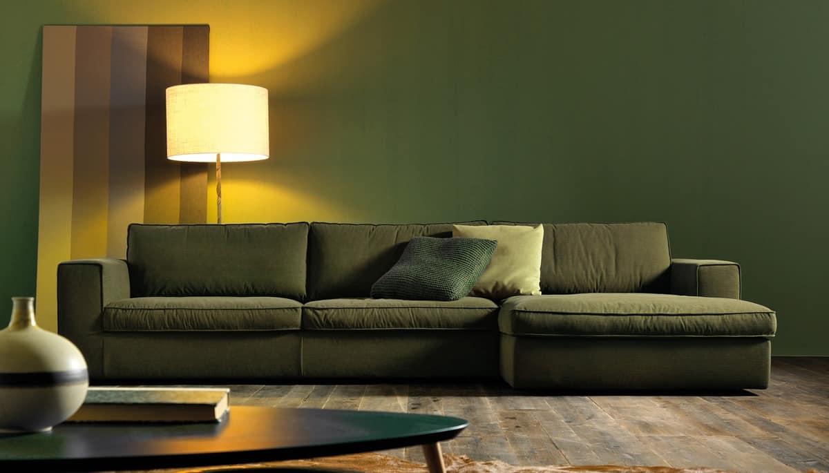 Life divano comodo divano elegante divani eleganti for Soggiorno moderno elegante