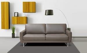Lisa, Divano dal design semplice, idelae per studio professionale