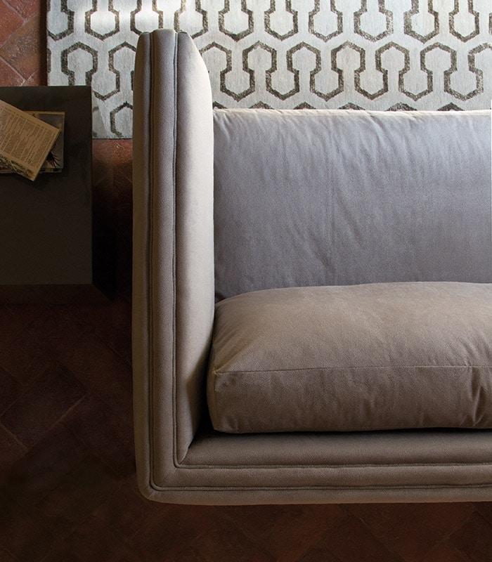 Morris divano, Divano contemporaneo in tessuto