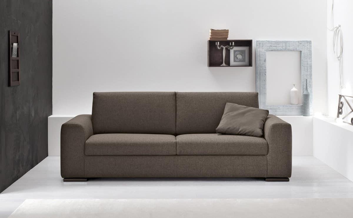 divano con penisola per salotto divano letto sfoderabile ...