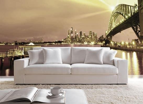 divano dal design semplice, divano schienale alto, divano ...