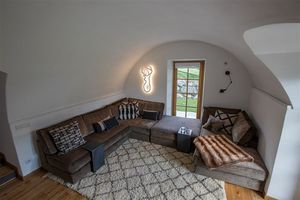 San Moriz divano, Divano moderno realizzato su misura