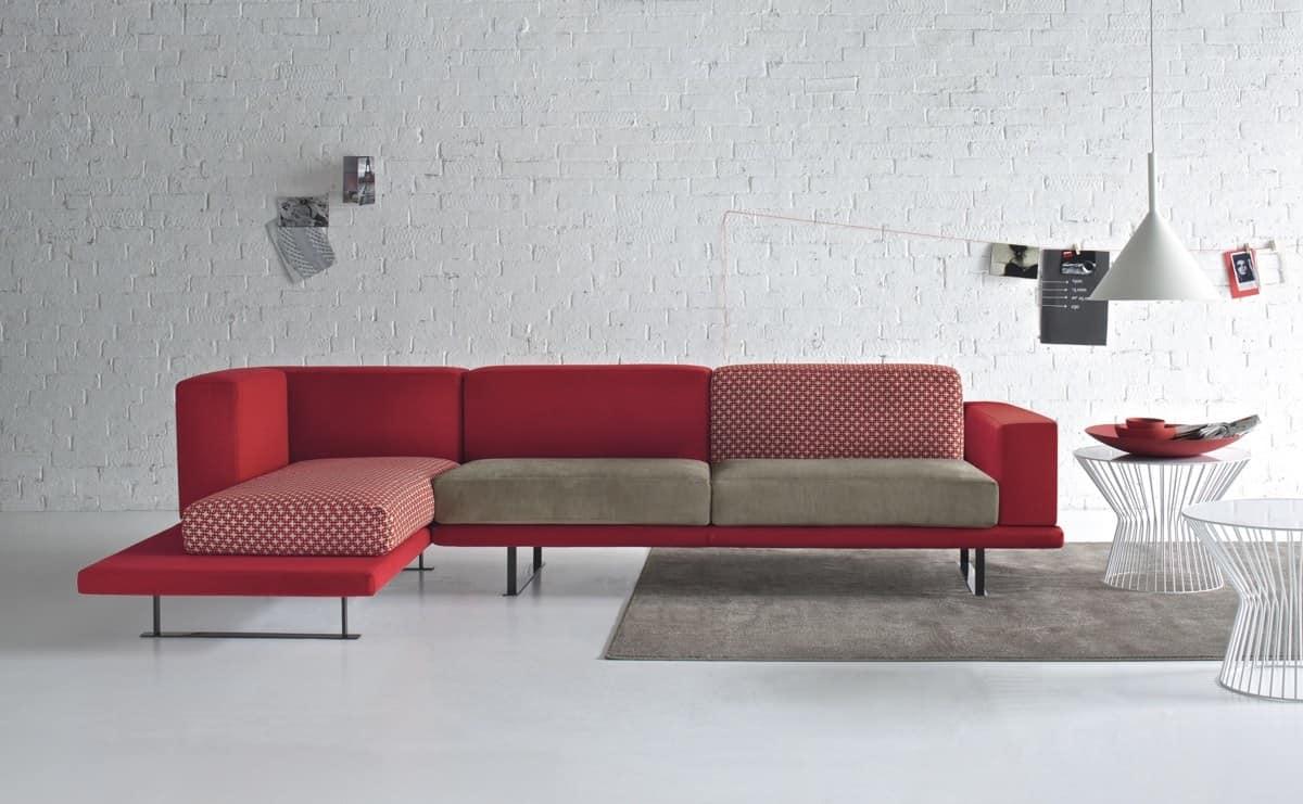 Divani di design moderni for Sofas esquineros modernos