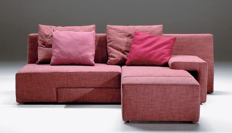 divano moderno con seduta ruotante sfoderabile idfdesign