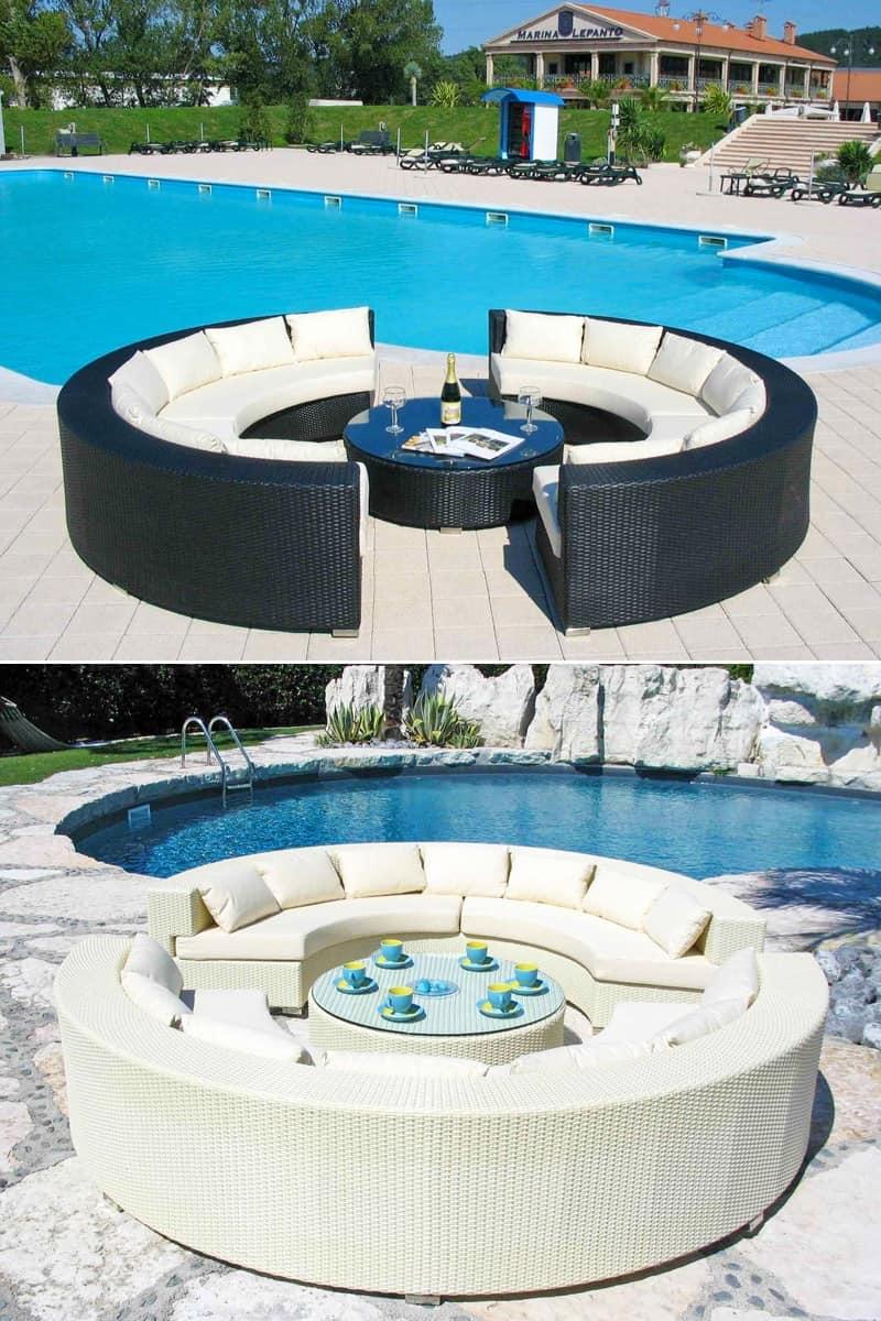 Imbottiti divani divani per esterni idf for Divani per terrazzi