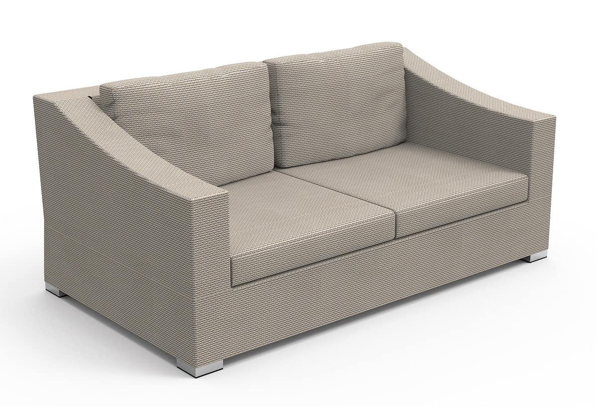 divanetto a due posti per esterno idfdesign
