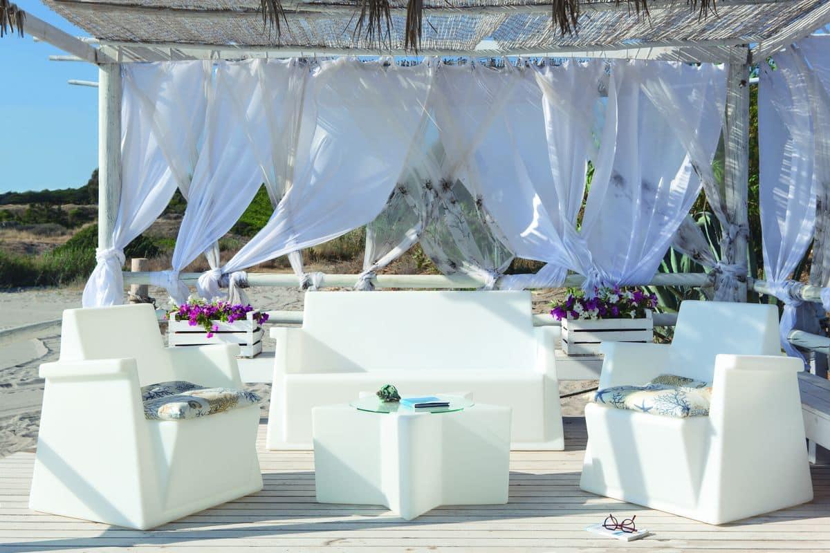 Miami divano, Divanetto illuminabile per uso esterno ...