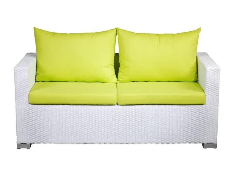 Imbottiti divani divani per esterni intrecciati idf for Divanetti per esterno