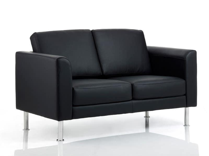 Imbottiti divani divanetti ufficio attesa moderni for Divano ufficio