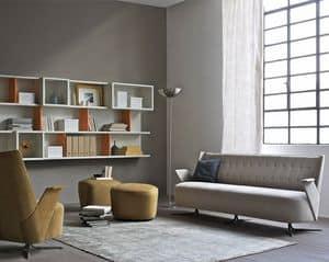 Embrace divano, Divano compatto per uffici moderni