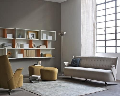 Divano compatto embrace divano - Divano pelle o tessuto ...