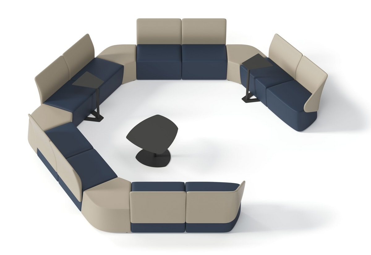 IKEBANA, Panca modulare per sale d'attesa e aree lounge