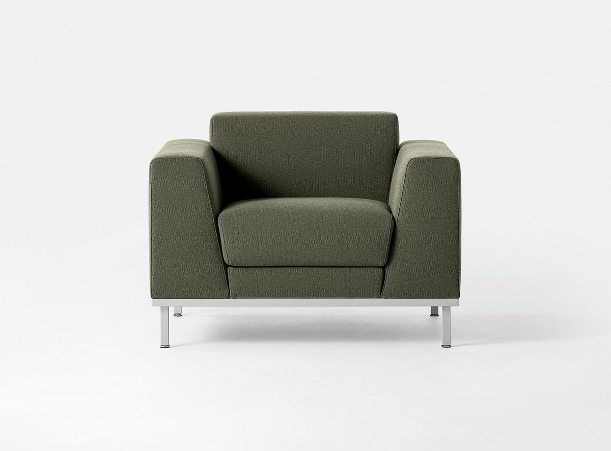 Interesting komodo divano imbottito moderno base in for Divano ufficio ikea
