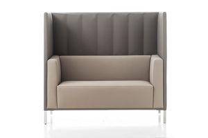 Kontex divano alto, Divano con schienale alto, per zona incontri