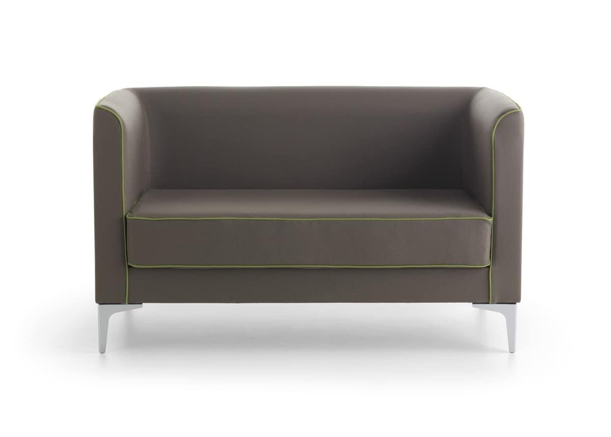 Mizar 02 divano pratico hall idfdesign for Divano ufficio