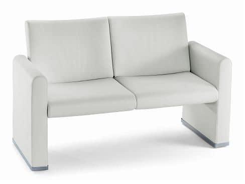 Divano 2 posti, ideale per ufficio e sala attesa | IDFdesign