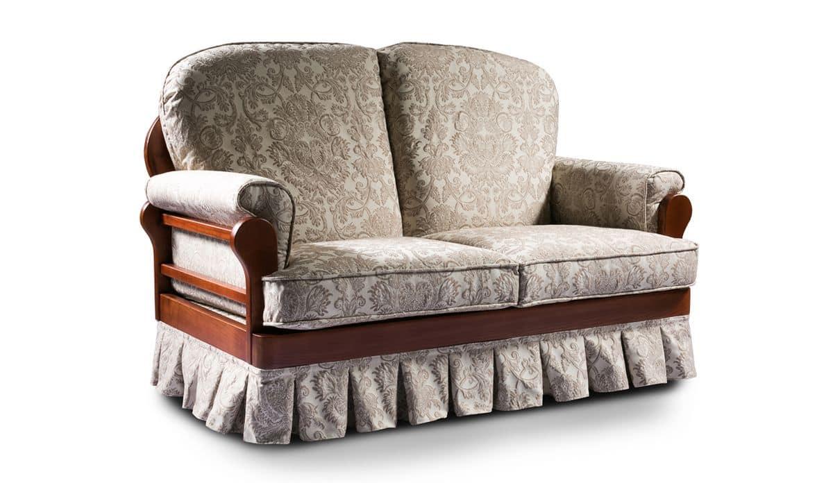Imbottiti divani divani letto rustici idfdesign for Dimensioni divano
