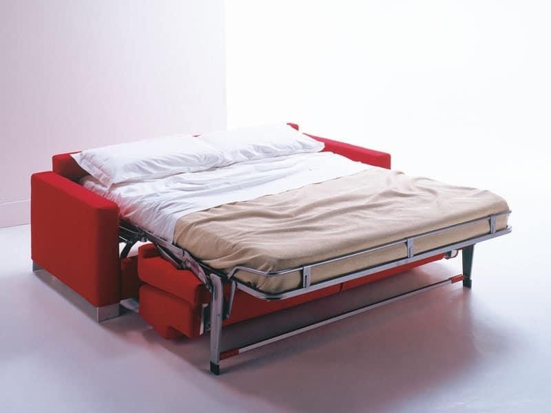 Divanetto con letto moderno e semplice per casa vacanze - Divani letto immagini ...