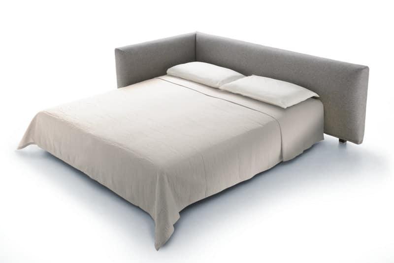 Divano letto design dinamico e multifunzionale idfdesign - Divano letto con due letti singoli ...