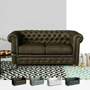 Divano In Similpelle 2 Posti Capitonn� CHESTERFIELD Design, Divano chesterfield in similpelle
