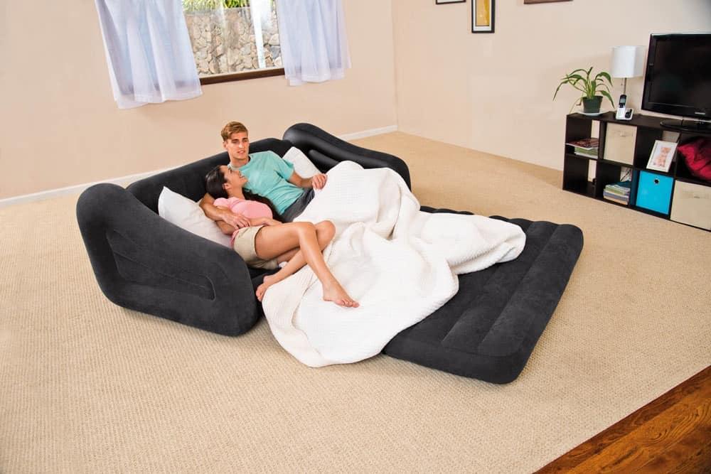 Cm doppia plus size materasso ad aria set letto
