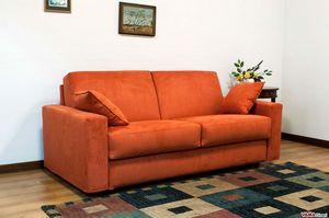 Eco Matrix, Divano letto smontabile con contenitore porta cuscini