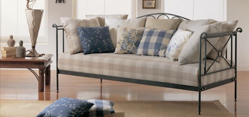 Divano letto in ferro battuto, per appartamenti | IDFdesign