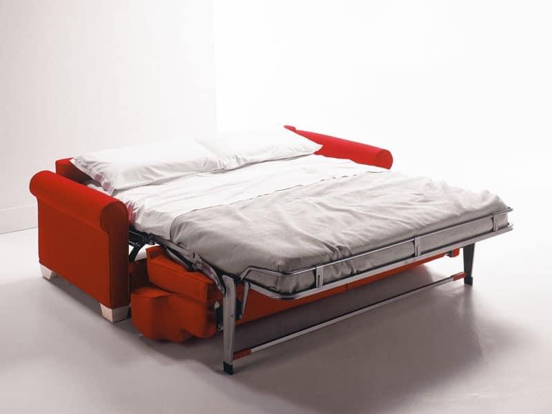 Divano trasformabile letto ospite per appartamenti idfdesign - Smontare divano poltrone sofa ...