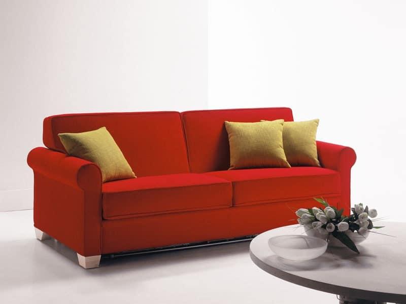 Divano trasformabile letto ospite per appartamenti - Divano letto smontabile ...