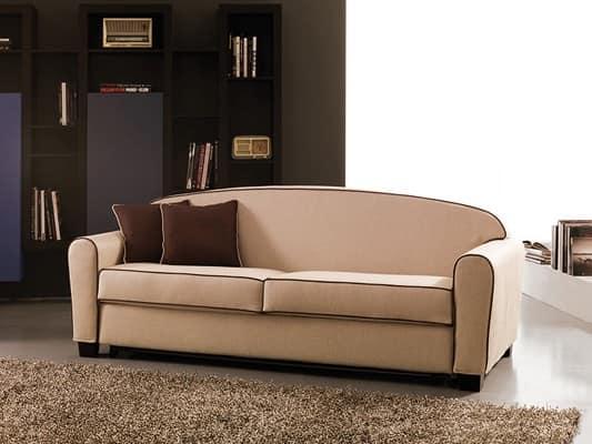 Divano letto matrimoniale divano letto sfoderabile comodo divano letto narciso - Smontare divano poltrone sofa ...