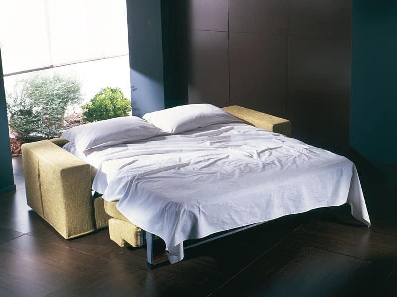 Divano letto ultramoderno trasformabile in letto for Divano letto trasformabile