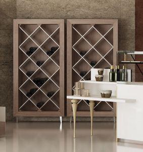 Revolution - espositore per vini, Mobile espositore per bottiglie vino