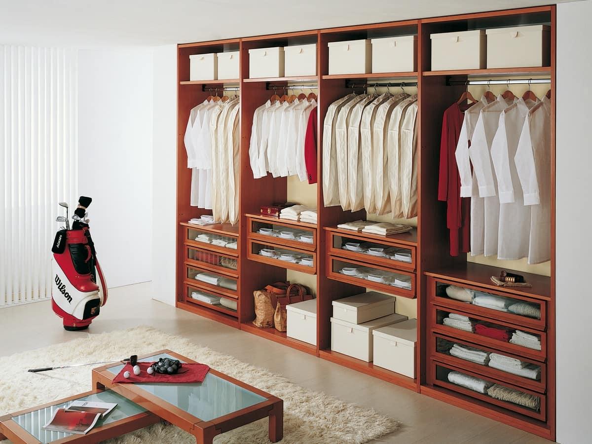 Guardaroba modulare per negozi di vestiti idfdesign - I mobili nel guardaroba ...
