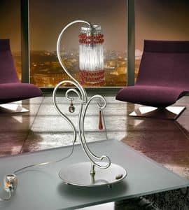 Casanova lumetto, Lampada in metallo forgiato a mano, per Uffici moderni