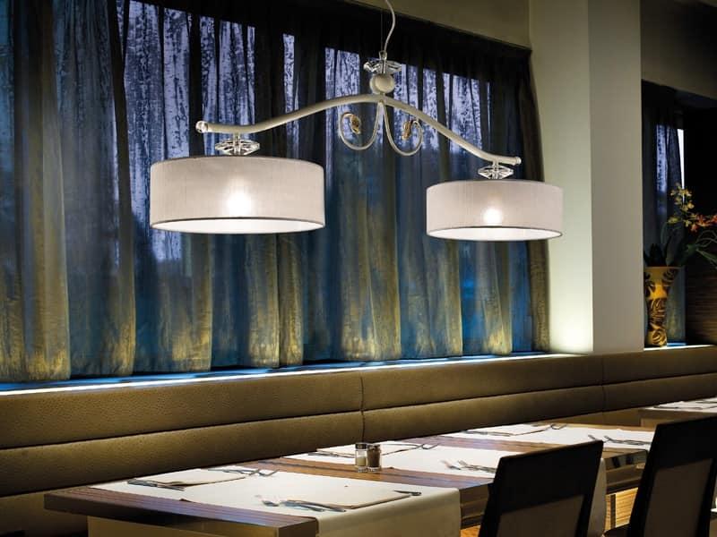 Lampada dallo stile classico ideale per ristoranti idfdesign