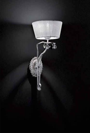 Dolce Vita applique, Lampada classica da parete interamente fatta a mano