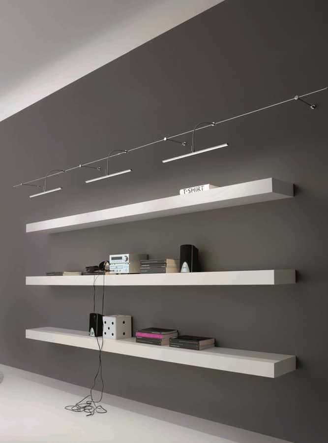 Sistema illuminazione modulare per ufficio, sistema ...