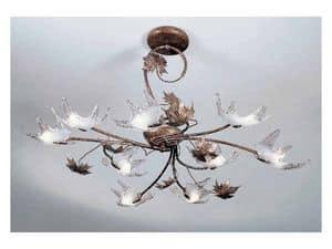 Elite lampadario, Lampadario classico interamente fatto a mano