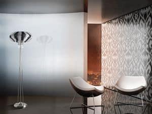Full Moon piantana, Raffinata lampada da pavimento per uffici in stile moderno