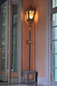 LAMPADA VENEZIANA ART. LM 0052, Antica lampada Veneziana intagliata a mano e dorata