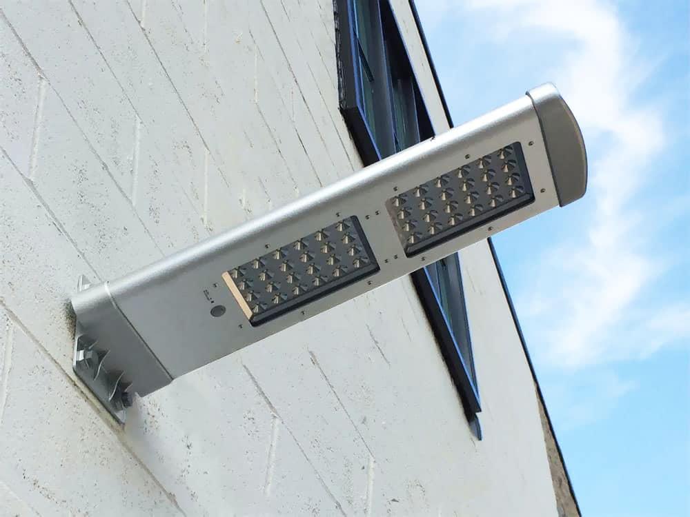 Luce led per esterni luce a energia solare da giardino idfdesign