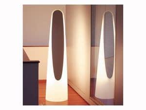 Immagine di Sigmund Specchio con neon, specchio muro