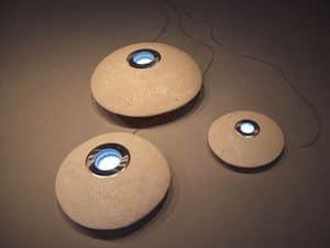 UFO LED, Lampada da esterno in pietra, luce led