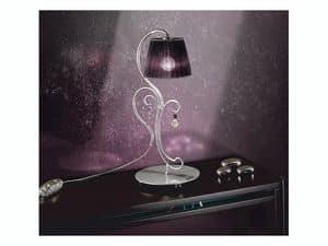 Venezia lumetto, Originale lampada da tavolo, per sfarzose camere da letto